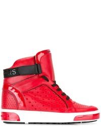MICHAEL Michael Kors Michl Michl Kors Lasered Hi Top Sneakers