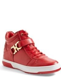 giuseppe zanotti sneakers red