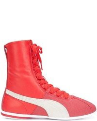 Puma Lace Up Hi Top Sneakers