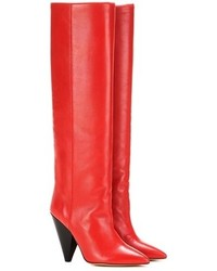 Laith leather knee high boots medium 1316611
