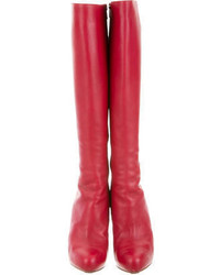 competitive price f7234 20957 $650, Christian Louboutin Leather Botalili 120 Boots
