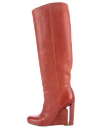Maison martin margiela leather knee high boots medium 1316613
