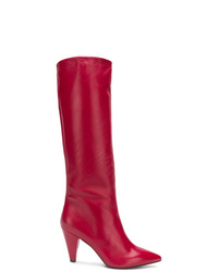 The Seller Mid Calf Heeled Boots