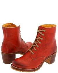 Frye Sabrina 6g Lace Up Lace Up Boots