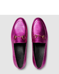 5180120ef Gucci Jordaan Leather Loafer, $1,200 | Gucci | Lookastic.com
