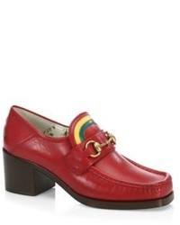 Gucci Vegas Loafer With Rainbow