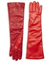 RED Valentino Two Tone Long Gloves