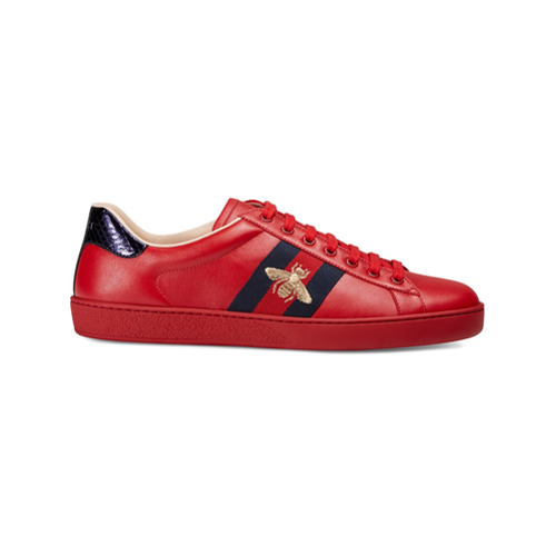 Gucci Ace Embroidered Sneaker, $680