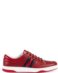 Gucci Leather Web Sneaker