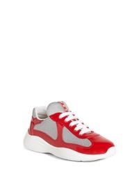 Prada Logo Low Top Sneaker