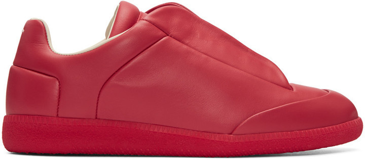 foldover top sneakers - Red Maison Martin Margiela W71FM