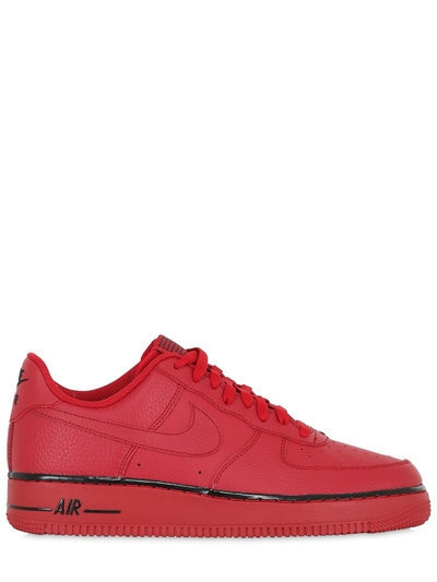 huge discount 59f24 86e6d ... Low Top Sneakers Nike Air Force 1 Faux Leather Sneakers ...