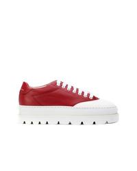 MM6 MAISON MARGIELA Platform Lace Up Sneakers