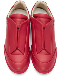 ... Maison Margiela Red Future Sneakers ... df868615a