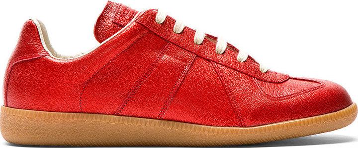 Maison Margiela Red Replica Sneakers gkLka