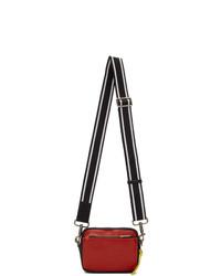 Givenchy Red And Black Mc3 Messenger Bag