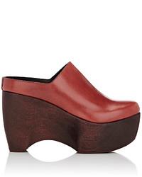 Simon Miller Leather Platform Clogs