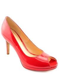 Cole Haan Chelsea Ot Pump Red Patent Leather Pumps Heels Shoes