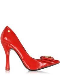Love Moschino Moschino Red Patent Eco Leather Pump