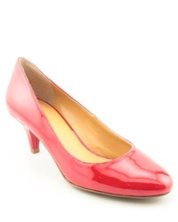 Nine West Swaymeso Red Patent Leather Pumps Heels Shoes