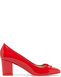 J.Crew Patent Leather Pumps Red