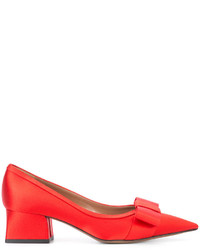 Marni Pointed Bow Pumps