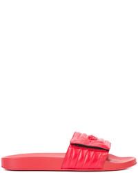 Red Rosso Versace Slides Pool Ssense Medusa Senza Chiusura zUSVpM
