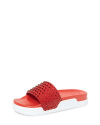 Christian Louboutin Pool Fun Sport Slide