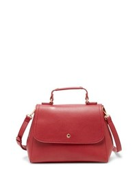 Sole Society Hingi Faux Leather Satchel
