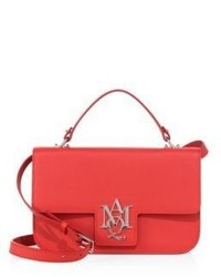 Alexander McQueen Insignia Large Leather Satchel