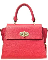 Leather Country Red Leather Bag