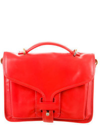 Opening Ceremony Leather Satchel