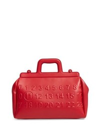 Maison Margiela Logo Leather Satchel