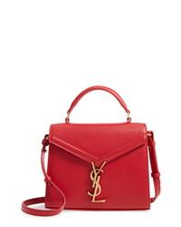 Saint Laurent Mini Cassandre Leather Bag