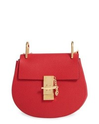 Chloé Mini Drew Leather Shoulder Bag