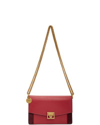 Givenchy Pink And Burgundy Mini Gv3 Bag