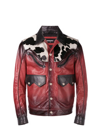 DSQUARED2 Ombre Leather Jacket