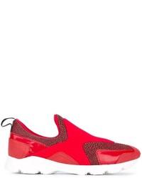MM6 MAISON MARGIELA Panelled Slip On Sneakers