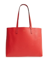 OAD NEW YORK Carryall Pebbled Leather Tote