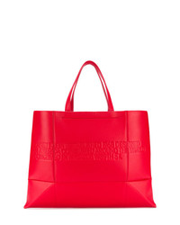Calvin Klein 205W39nyc Embossed Logo Tote Bag