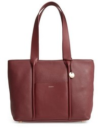 Skagen Lisabet Leather Tote Black