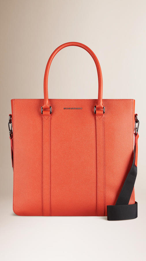 ... Red Leather Tote Bags Burberry London Leather Tote Bag ... 973b9fbc9b112