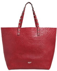 RED Valentino Manifesto Leather Tote W Studs