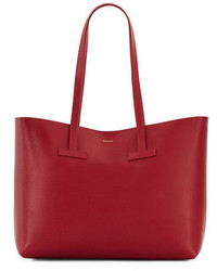 Tom Ford Medium Grained Leather Tote Bag