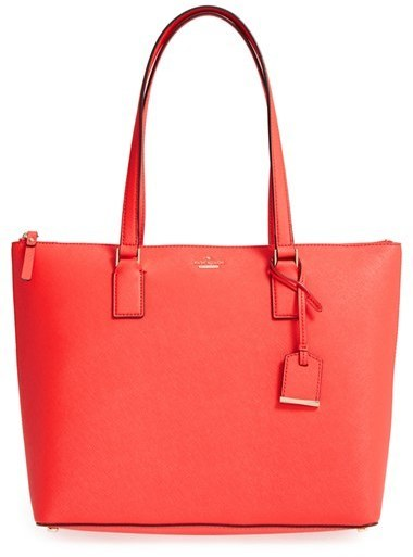 c1111ea30e30 ... Leather Tote Bags Kate Spade New York Cameron Street Lucie Tote Red ...