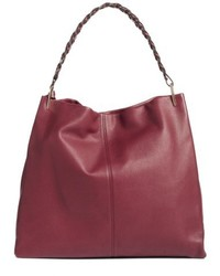 Vince Camuto Ruedi Leather Tote Red