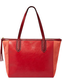 Fossil Sydney Leather Shopper