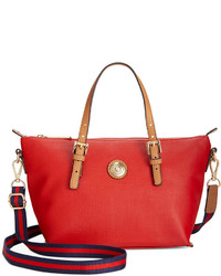 Tommy Hilfiger Th Shopper Pebble Small Convertible Tote