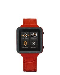 Android Red Digital Smart Watch