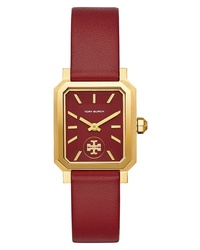 Tory Burch Robinson Leather Watch